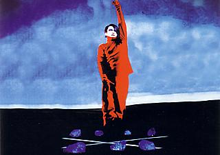 See you at the crossroads: the poster image for the 2004 production of The Black Rider, although it's actually a photo from the 1990 Hamburg production