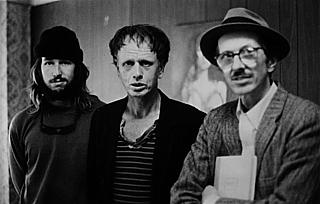 Left to right: Jesse, Max and Robert Crumb, photographed around the time of the Terry Zwigoff documentary
