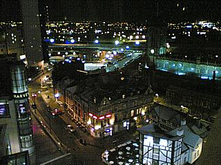 26/12/2004, 20:18. View of Manchester city centre, from the top of their spiffy big wheel.