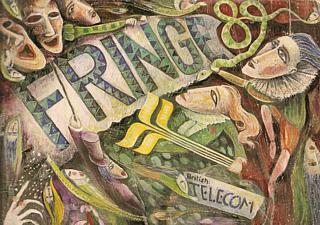 Fringe Programme 1989, sponsored by British Telecom. Whatever happened to them?