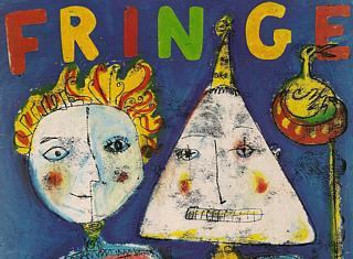 After 1991, the Fringe Programme covers started to look a little less - how can I put this politely? - naive. See future posts for details.