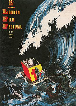 The LFF 1991 poster, designed by none other than Terry Gilliam. Too good to be cropped for landscape mode, I think.