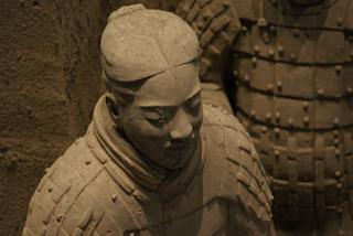 A terracotta warrior, shot by The Belated Birthday Girl on her posh new camera