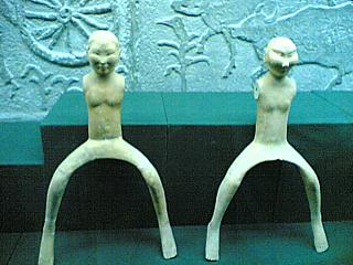 Naked female horseriders from the Han Yang Ling Museum. That's for all the people who keep looking for porn on here.