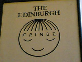 A hair salon, Edinburgh, 2005. Do you see what they did there?