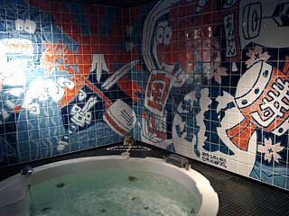 I suspect none of our other baths will look like this.