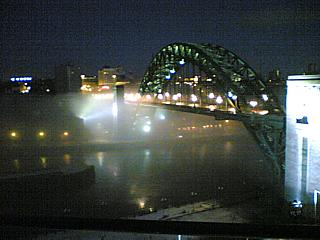 Fog, on the Tyne. (c) me 2009