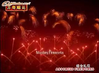 Monkey Fireworks