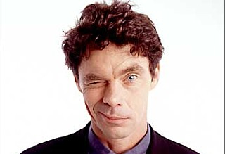 Rich Hall: always tricky when you blink at the wrong time in a photoshoot, isn't it?