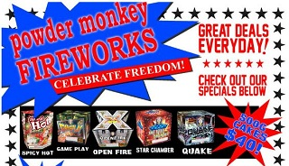 Powder Monkey Fireworks