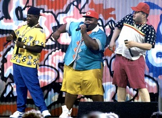 The Fat Boys. They're fat! (Not pictured: The Beach Boys. They're beach!)