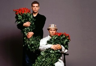 Pet Shop Boys. Rose for the lady, sir?