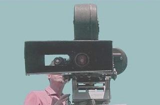 The official mascot of mostlyfilm.com, camera operator Maurice Stlyfilm