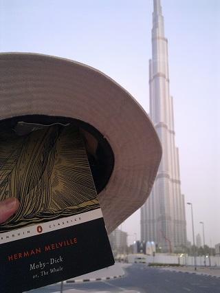 The Burj Khalifa, Dubai. And some Dick in a hat.