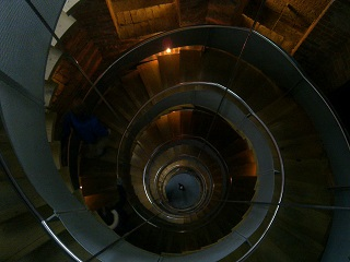Lighthouse (looking down the stairs from the top)
