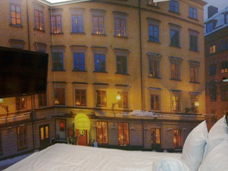 Nordic C Hotel, for anyone who wants to recreate the experience of waking up in the middle of a snow-covered Gamla Stan.
