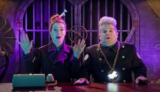 Your Mads for this season of MST3K: Felicia Day as Kinga Forrester, and Patton Oswalt as TV's 'Son Of TV's Frank'. One day, theses will be written on how Oswalt has managed to blag a role for himself on every single TV show he's a fan of.