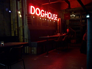 Doghouse (late Sunday night, it's not always this quiet)