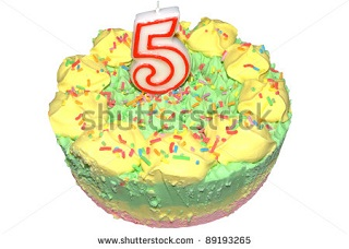 Happy birthday, MostlyFilm! I bought you a cake with the word 'shutterstock' written across it for some reason or other.