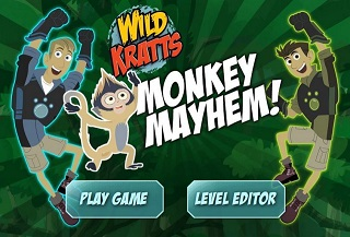 Wild Kratts Monkey Mayhem!