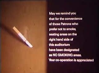 Ah, 1986. When just sitting on the opposite side of the room from a smoker protected you from lung cancer.