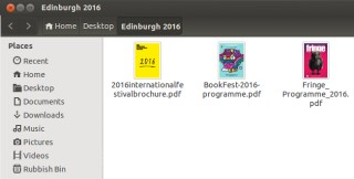 The more observant of you will have noted that this will be my second year of Edinburgh Festival coverage using the Umbongo operating system.