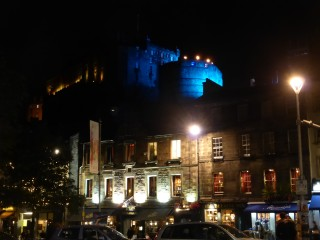 A castle, yesterday (photo by The BBG)