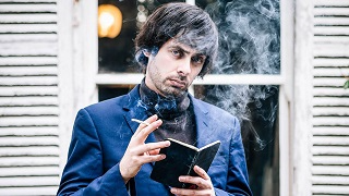 Marcel Lucont's biography pretentiously refers to him as a 'flâneur'. But who doesn't like flan?