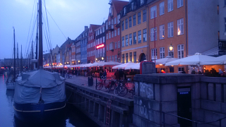 Nyhavn at sunset. It's always nice when you don't have to fiddle with the colour.