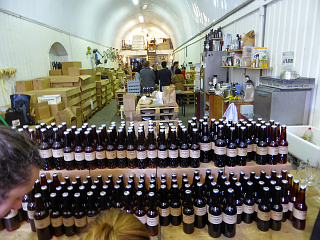The Kernel Brewery, taken by The Belated Birthday Girl in 2014. You can tell it's an old photo, there are people in it.