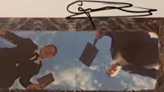 Sure, the actual image from the play is fuzzy as shit, but look at that autograph!