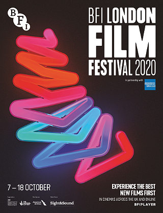 The LFF programme cover that never was (extrapolated from an advert published in Sight & Sound)