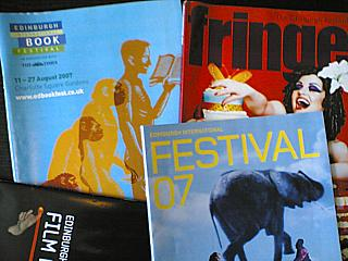 2007's Edinburgh programmes. Too subtle?