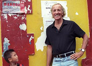 John Pilger plus less-than-impressed audience
