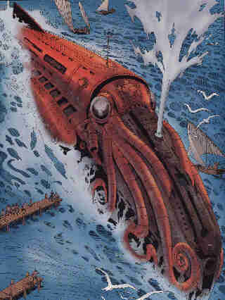 'Sir,' replied the commander, 'I am nothing to you but Captain Nemo; and you and your companions are nothing to me but the passengers of the Nautilus.'