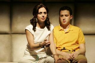 You're a homo, Charlie Brown! Eliza Dushku and Eddie Kaye Thomas in Dog Sees God