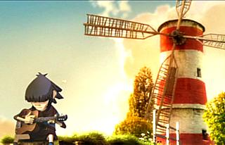 Windmill, windmill for the land: the video for 'Feel Good Inc' by Gorillaz gets framegrabbed for the second time by this site