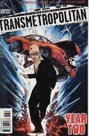 Jae Lee's cover for Transmet #13