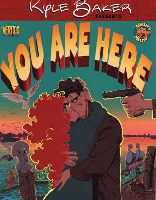 You Are Here, DC/Vertigo Comics, $19.95 (or around thirteen quid in real money)