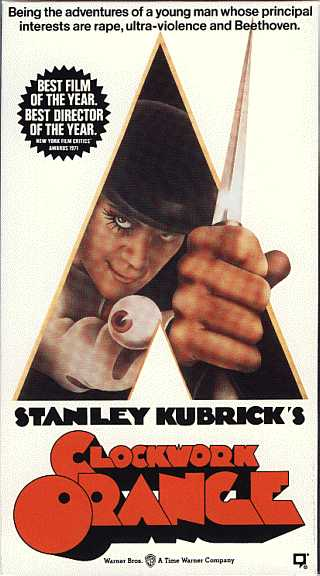 A Clockwork Orange - the video box (NTSC only, as yet)