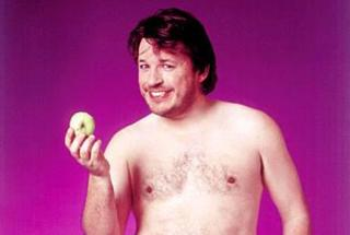 Richard Herring. This photo has been cropped, in case you were wondering.