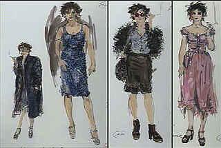 'Like Audrey Hepburn on heroin': Michael Kaplan's costume designs for Marla Singer