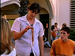 Nicholas Brendon (again) and Eric Balfour in the first episode. Look, everyone, it's Milo from 24 when he was a child! He looks peculiar without the beard, doesn't he?