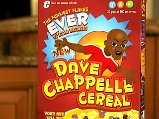 'I finally got my own cereal. The first black man since Mr T!'
