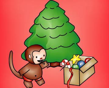 Let's Tree With Happy Monkey