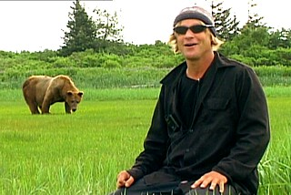 I liked it when the bear ate the guy. There you go, FilmFan, a gag just for you. Timothy Treadwell in Grizzly Man