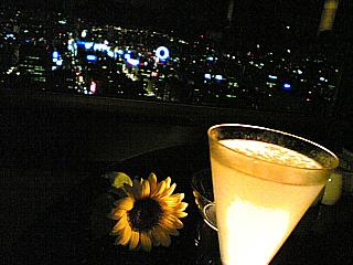 Still Life With Backlit Cocktail, taken by The BBG in Sky J, Sapporo