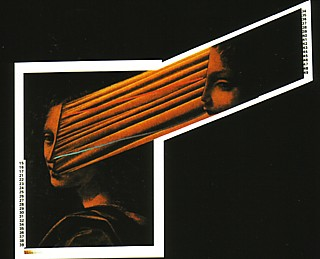 'Blurring my face and conversation...' Cover art from Slow Motion, the first single taken from Systems Of Romance.