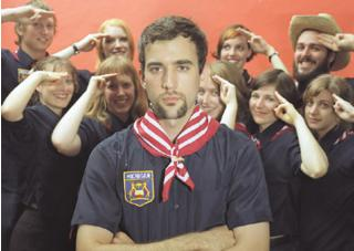 You're creepy, but by gosh, don't you know it: Sufjan Stevens and his Michigan Militia
